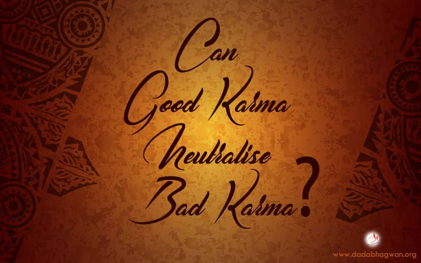 good and bad karma